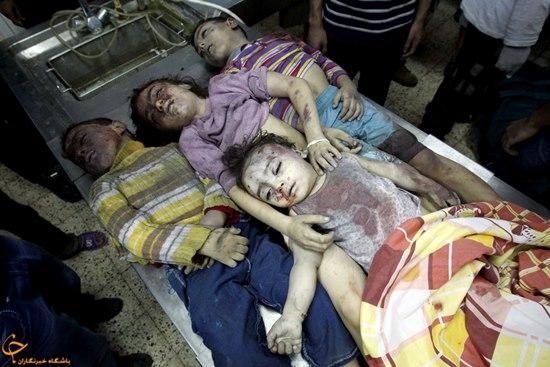 غزه در محرم امسال