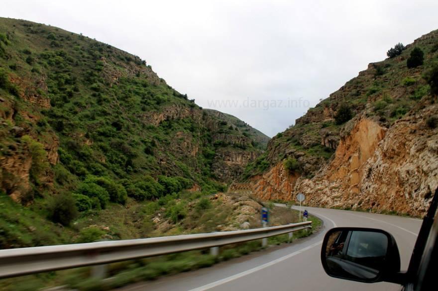 جاده زیبای شهرستان درگز